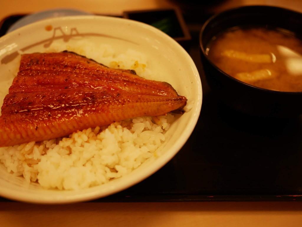 松屋のうな丼2